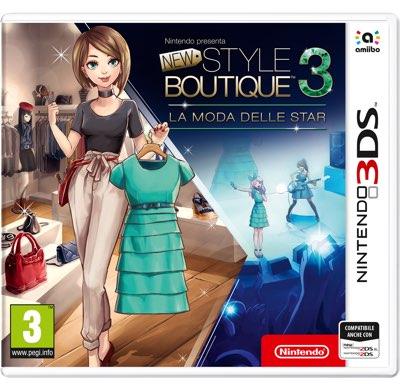 New Style Boutique 3 La moda delle Star 3DS