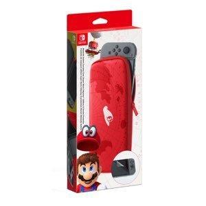 Custodia con Pellicola Protettiva Nintendo Switch Mario Odyssey Edition
