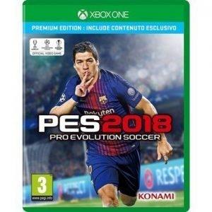 PES 2018 Premium Edition Xbox One