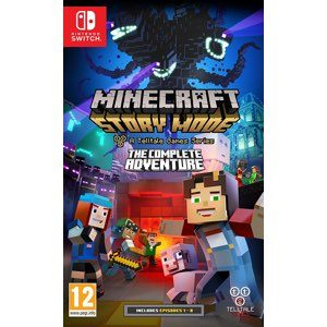 Minecraft Story Mode Complete Adventure Switch