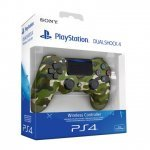 Dualshock 4 Sony PS4 V2 Green Camouflage