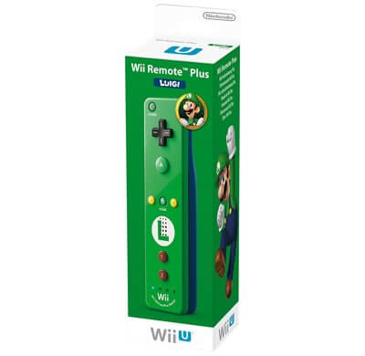 Wii Remote Plus Originale Nintendo Luigi