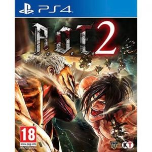 A.O.T. 2 Attack on Titan 2 PS4