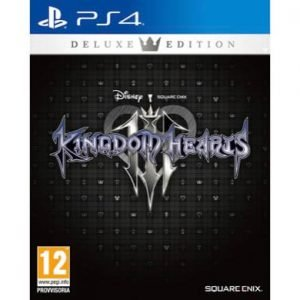Kingdom Hearts III Deluxe Edition PS4