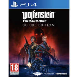 Wolfenstein Young Blood Deluxe Edition PS4