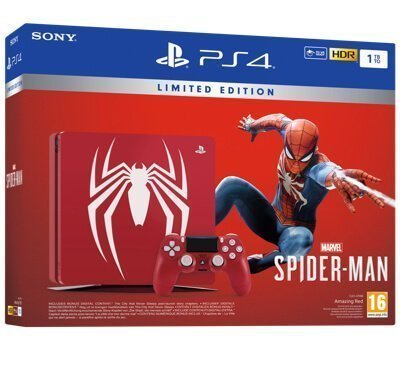 Sony PlayStation 4 PS4 1TB + Marvel's Spider-Man Limited Edition