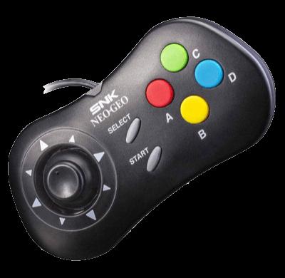 NEO GEO Mini Controller Nero