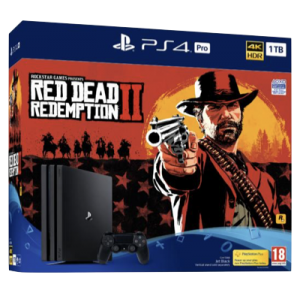 Playstation 4 Pro 1 Tb + Red Dead Redemption 2
