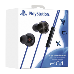 In Ear Stereo Headset PS4