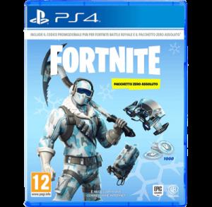 Fortnite Pacchetto Zero Assoluto PS4