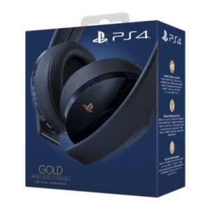 Gold Wireless Headset PS4 500M Limited Edition