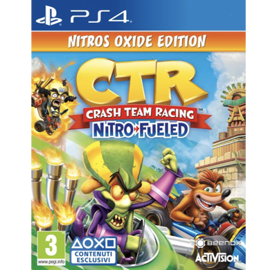 Crash Team Racing Nitro Fueled Oxide Edition PS4