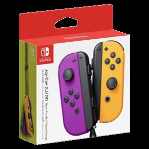 Set 2 Joy-Con Viola Arancio Neon Nintendo Switch