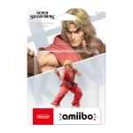 Amiibo Ken Smash Bros Collection