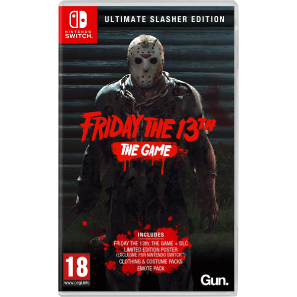 Friday The 13 Ultimate Slasher Edition Switch