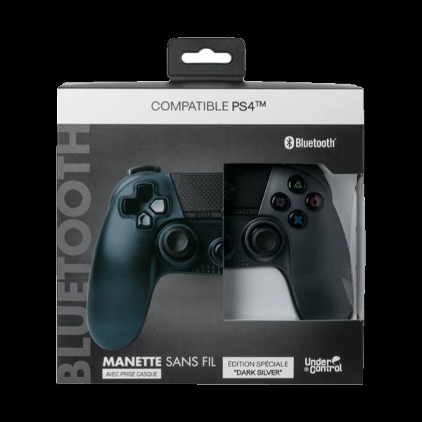 Dualshock PS4 Under Control Dark Silver