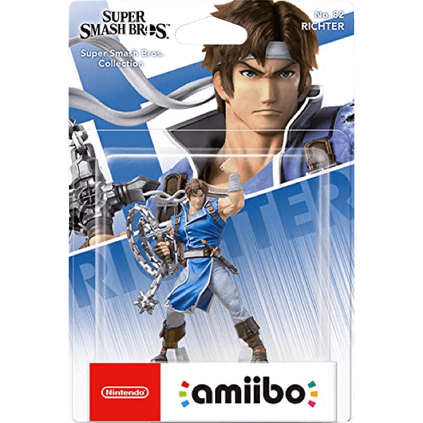 Amiibo Richter Smash Bros Collection 82