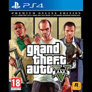 GTA V Premium Online Edition PS4
