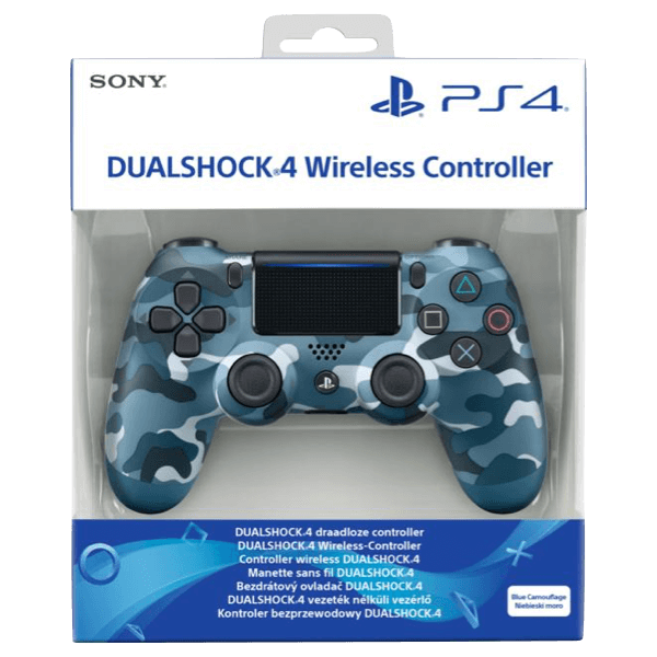 Dualshock 4 Sony PS4 V2 Blue Camouflage