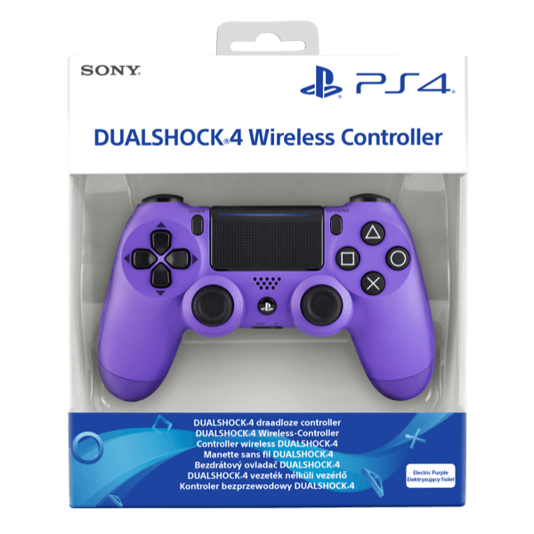 Dualshock 4 Sony PS4 V2 Electric Purple