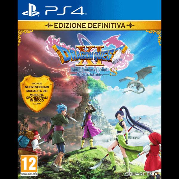 Dragon Quest XI S Echi di un'Era Perduta Edizione Definitiva PS4