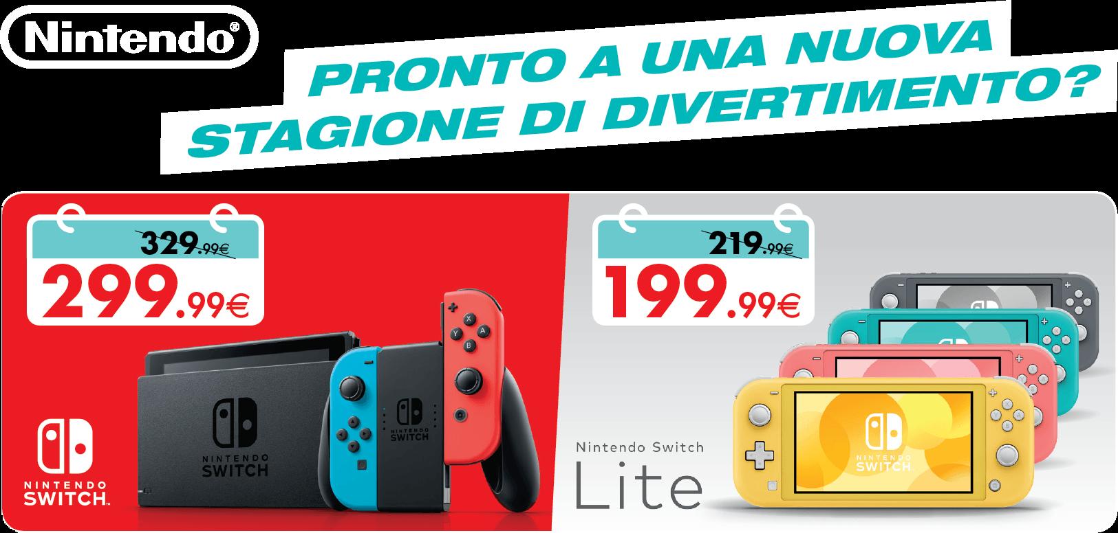 Promozioni Nintendo Settembre 2020