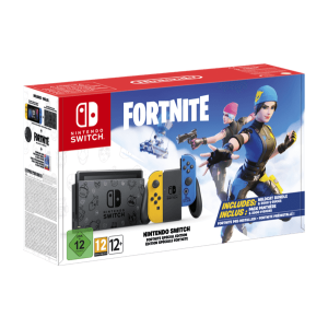 Nintendo Switch Fortnite Edition Joy-Con Giallo Blu