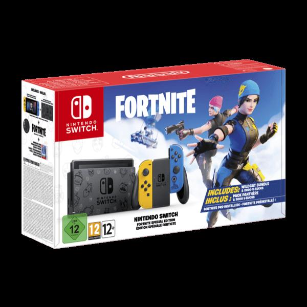 Nintendo Switch Fortnite Edition Joy-Con Giallo Blu