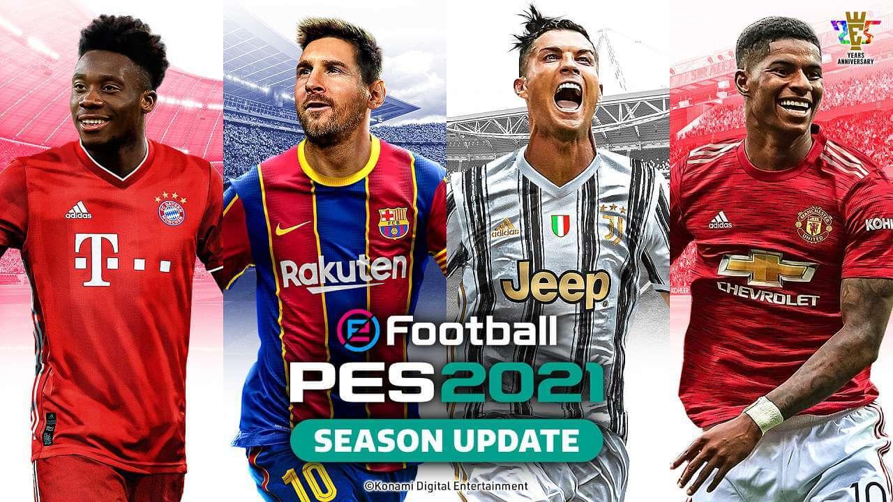 PES 2021 Disponibile