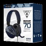 Cuffie Recon 70 Camo - Blu