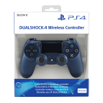 Dualshock 4 Sony PS4 Midnight Blue V2