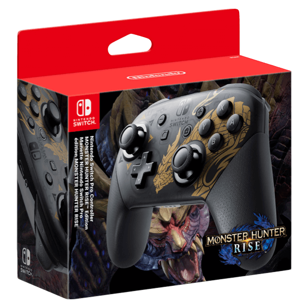 Pro Controller Monster Hunter Edition