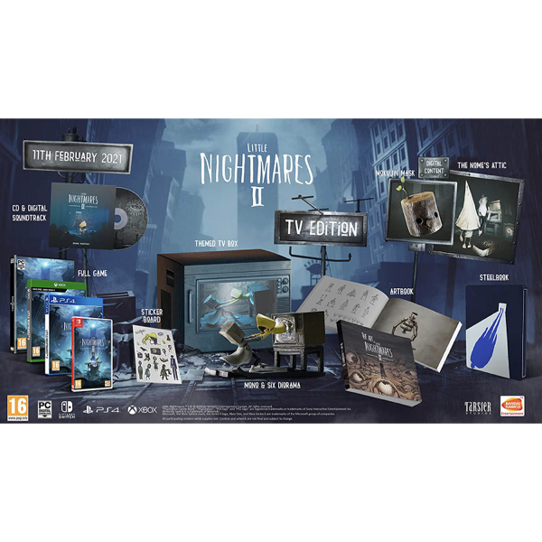 Little Nightmares 2 TV Edition PS4