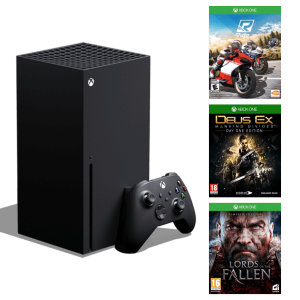 Xbox Series X + Triple Bundle