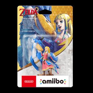 Amiibo Zelda Skyward Sword e Solcanubi