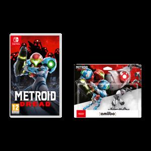 Amiibo Samus & E.M.M.I. + Metroid Dread