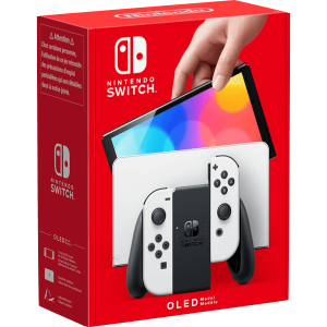 Nintendo Switch OLED Bianca