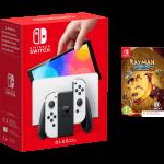 Nintendo Switch OLED Bianca Rayman Bundle