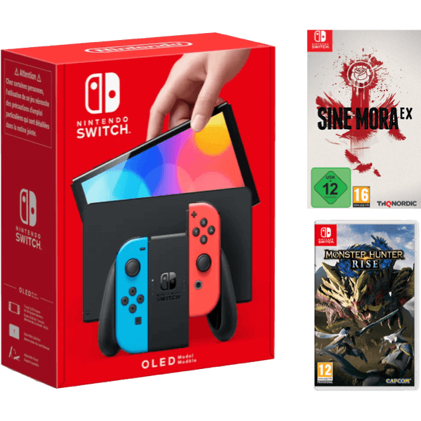 Nintendo Switch OLED Color Bundle B