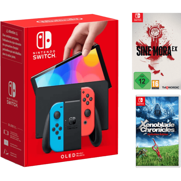 Nintendo Switch OLED Color Bundle C