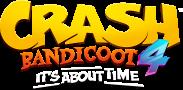 Crash 4 About Time Logo